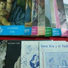 Coleccionismo de Revistas y Periódicos: SANTA RITA Y EL PUEBLO CRISTIANO. Lote 210404665