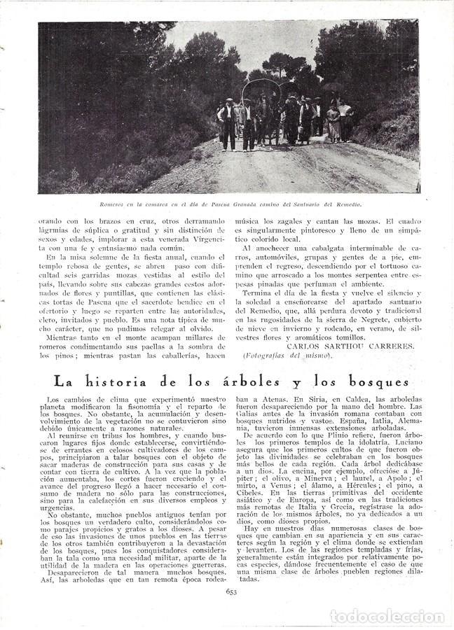 Coleccionismo de Revistas y Periódicos: 1930 HOJAS REVISTA SANTUARIO MARIANO DEL REMEDIO EN UTIEL FERIA PROCESIÓN ROMERÍA - Foto 3 - 210409175