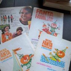 Coleccionismo de Revistas y Periódicos: HOJAS PUBLICIDAD REVISTA FANTA COCA COLA PEPSI TONICA AÑOS 60 70. Lote 210456156