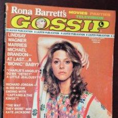 Coleccionismo de Revistas y Periódicos: LINDSAY WAGNER BIONIC WOMAN USA VINTAGE MAGAZINE REVISTA. Lote 210528511