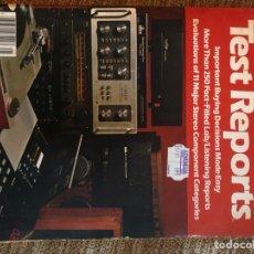 Coleccionismo de Revistas y Periódicos: RARA REVISTA TEST REPORTS 1981 BUYING GUIDE. Lote 210544598