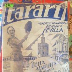 Coleccionismo de Revistas y Periódicos: TARARI, 133, ABRIL 1934.. Lote 210546922