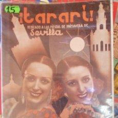 Coleccionismo de Revistas y Periódicos: TARARI, 186, ABRIL 1936. Lote 210547138