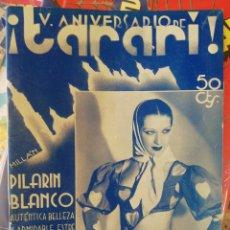 Coleccionismo de Revistas y Periódicos: TARARI, 178, OCTUBRE 1935. Lote 210549347