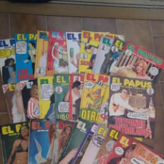 Coleccionismo de Revistas y Periódicos: LOTE DE 28 REVISTAS EL PAPUS AÑOS 70/80. Lote 210571742