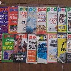 Collezionismo di Riviste e Giornali: LOTE DE 21 REVISTAS POSIBLE AÑOS 70. Lote 210572313