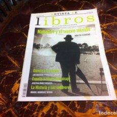Coleccionismo de Revistas y Periódicos: REVISTA DE LIBROS DE LA FUNDACIÓN CAJA MADRID. Nº 132. AÑO 2007. NABOKOV Y EL NUEVO MUNDO. Lote 210636011