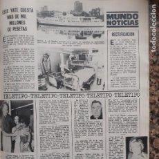 Coleccionismo de Revistas y Periódicos: RONALD BIGGS. Lote 210661782