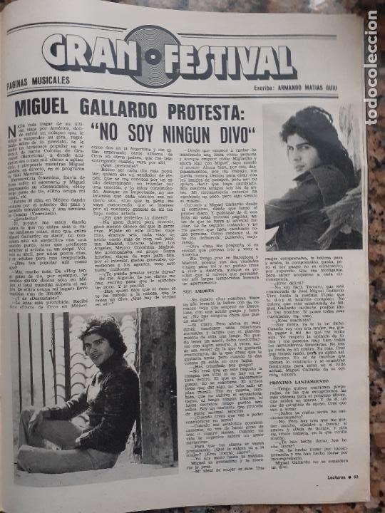 MIGUEL GALLARDO (Coleccionismo - Revistas y Periódicos Modernos (a partir de 1.940) - Otros)