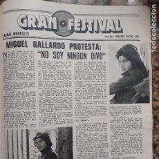 Coleccionismo de Revistas y Periódicos: MIGUEL GALLARDO. Lote 210661819