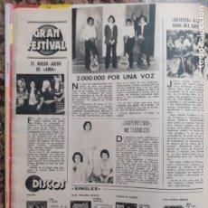 Coleccionismo de Revistas y Periódicos: SUPERFENIX ABBA CAMILO SESTO. Lote 210661902