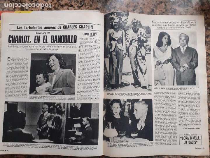 CHARLES CHAPLIN CHARLOT (Coleccionismo - Revistas y Periódicos Modernos (a partir de 1.940) - Otros)