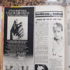 Coleccionismo de Revistas y Periódicos: MARGAUX HEMINGWAY. Lote 210662444