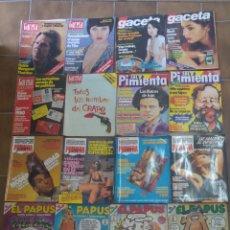 Coleccionismo de Revistas y Periódicos: LOTE DE 20 REVISTAS VARIADAS AÑOS 70/80. Lote 210667580