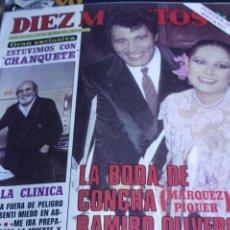 Coleccionismo de Revistas y Periódicos: ANA OBREGON LOLA FLORES DINASTIA ROCIO JURADO MECANO ALASKA LUZ CASAL 1983. Lote 210683080