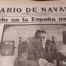 Coleccionismo de Revistas y Periódicos: GUERRA CIVIL. REPRODUCCIÓN DE PERIÓDICOS BANDO NACIONAL. Lote 210699707
