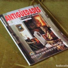 Coleccionismo de Revistas y Periódicos: ANTIGÜEDADES,LAS ANTIGÜEDADES EN LA DECORACIÓN,DI BAIO SERVIZI EDITORIALI,EN ITALIANO Y ESPAÑOL.. Lote 210749252