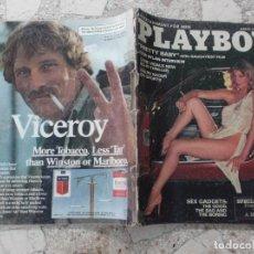 Coleccionismo de Revistas y Periódicos: PLAYBOY ENTERTAINMENT FOR MEN MARCH 1978, POSTER CHRISTINA SMITH, PRETTY BABY,SEX ON WHEELS. Lote 210817784