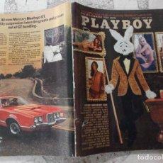 Coleccionismo de Revistas y Periódicos: PLAYBOY ENTERTAINMENT FOR MEN JANUAQRY 1972 POSTER LUKY LONDONERS, SEXOMETRICS, KUBRICKS ORANGE. Lote 210819084