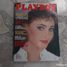 Coleccionismo de Revistas y Periódicos: PLAYBOY ENTERTAINMENT FOR MEN NOVEMBER 1983 POSTER VERONICA GAMBA, WOMEN IN WHITE, SEX N CINEMA 83. Lote 210820105