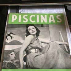 Coleccionismo de Revistas y Periódicos: REVISTA PISCINAS Y DEPORTES. 1942. Lote 210935541