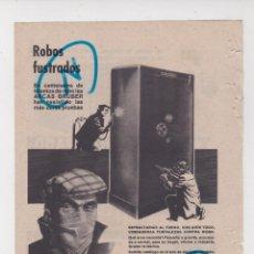 Coleccionismo de Revistas y Periódicos: PUBLICIDAD T 1960. ANUNCIO ARCAS GRUBER, S.A.. Lote 210938141
