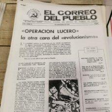 Coleccionismo de Revistas y Periódicos: TRANSICION-EL CORREO DEL PUEBLO-ORGANO CENTRAL DEL PARTIDO DEL TRABAJO DE ESPAÑA AÑO I Nº 21. Lote 211258801