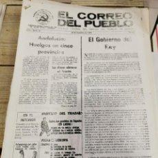 Coleccionismo de Revistas y Periódicos: TRANSICION-EL CORREO DEL PUEBLO-ORGANO CENTRAL DEL PARTIDO DEL TRABAJO DE ESPAÑA AÑO I Nº 24. Lote 211258916