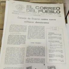 Coleccionismo de Revistas y Periódicos: TRANSICION-EL CORREO DEL PUEBLO-ORGANO CENTRAL DEL PARTIDO DEL TRABAJO DE ESPAÑA AÑO II Nº 25. Lote 211258952