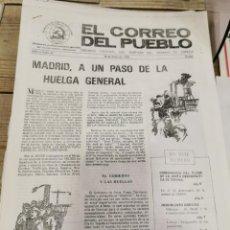 Coleccionismo de Revistas y Periódicos: TRANSICION-EL CORREO DEL PUEBLO-ORGANO CENTRAL DEL PARTIDO DEL TRABAJO DE ESPAÑA AÑO II Nº 26. Lote 211258986
