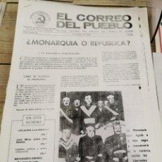 Coleccionismo de Revistas y Periódicos: TRANSICION-EL CORREO DEL PUEBLO-ORGANO CENTRAL DEL PARTIDO DEL TRABAJO DE ESPAÑA AÑO II Nº 28. Lote 211259032
