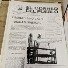 Coleccionismo de Revistas y Periódicos: TRANSICION-EL CORREO DEL PUEBLO-ORGANO CENTRAL DEL PARTIDO DEL TRABAJO DE ESPAÑA AÑO II Nº 29. Lote 211259085