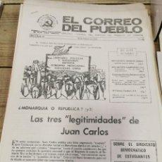 Coleccionismo de Revistas y Periódicos: TRANSICION-EL CORREO DEL PUEBLO-ORGANO CENTRAL DEL PARTIDO DEL TRABAJO DE ESPAÑA AÑO II Nº 30. Lote 211259674