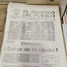 Coleccionismo de Revistas y Periódicos: TRANSICION-EL CORREO DEL PUEBLO-ORGANO CENTRAL DEL PARTIDO DEL TRABAJO DE ESPAÑA AÑO II Nº 41. Lote 211260759