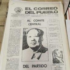 Coleccionismo de Revistas y Periódicos: TRANSICION-EL CORREO DEL PUEBLO-ORGANO CENTRAL DEL PARTIDO DEL TRABAJO DE ESPAÑA AÑO II Nº 56. Lote 211261826