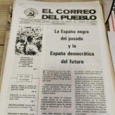 Coleccionismo de Revistas y Periódicos: TRANSICION-EL CORREO DEL PUEBLO-ORGANO CENTRAL DEL PARTIDO DEL TRABAJO DE ESPAÑA AÑO II Nº 60. Lote 211262055