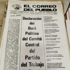 Coleccionismo de Revistas y Periódicos: TRANSICION-EL CORREO DEL PUEBLO-ORGANO CENTRAL DEL PARTIDO DEL TRABAJO DE ESPAÑA AÑO II Nº 61. Lote 211262131