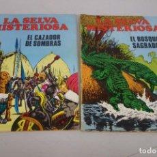 Coleccionismo de Revistas y Periódicos: COLECCIÓN Nº 17 DE 2 TEBEOS Y CÓMICS LA SELVA MISTERIOSA. Lote 211262255