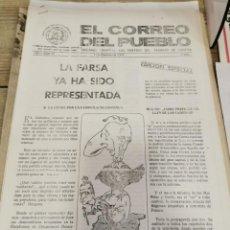 Coleccionismo de Revistas y Periódicos: TRANSICION-EL CORREO DEL PUEBLO-ORGANO CENTRAL DEL PARTIDO DEL TRABAJO DE ESPAÑA AÑO II Nº 72. Lote 211262337