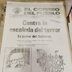 Coleccionismo de Revistas y Periódicos: TRANSICION-EL CORREO DEL PUEBLO-ORGANO CENTRAL DEL PARTIDO DEL TRABAJO DE ESPAÑA AÑO III Nº 77. Lote 226225815