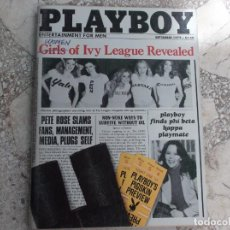 Coleccionismo de Revistas y Periódicos: PLAYBOY ENTERTAINMENT FOR MEN AUGUST 1979, POSTER VICKI MCCARTY, SEX IN AMERICA:NEW ORLEANS,GIRLS OF. Lote 211369580