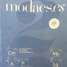 Coleccionismo de Revistas y Periódicos: MODAES.ES. LIDER EN INFORMACION ECONOMICA DEL NEGOCIO DE LA MODA. Nº 25. AÑO VII, 2018. Lote 211408804
