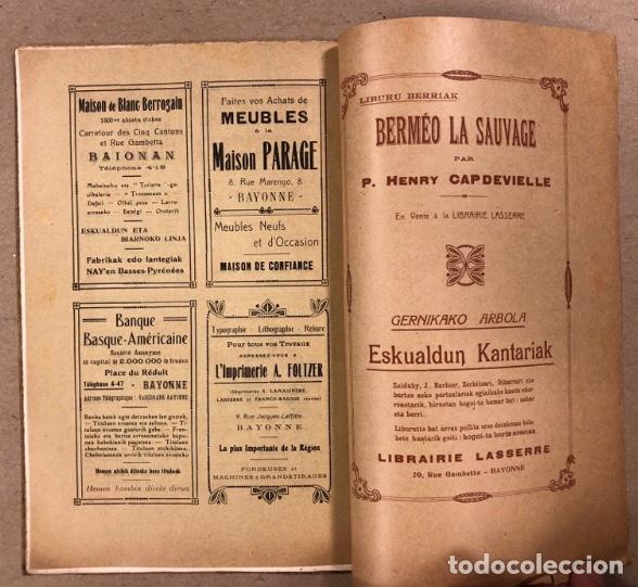Coleccionismo de Revistas y Periódicos: GURE HERRIA (HIRUGARREN URTEA) N° 5 (1923). ANTIGUA REVISTA VASCA. - Foto 8 - 211439531