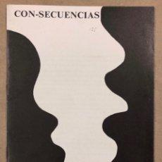 Coleccionismo de Revistas y Periódicos: CON-SECUENCIAS (MADRID, AÑOS 80). HISTÓRICO FANZINE ORIGINAL QUE RECOGE TRABAJOS GRÁFICOS. Lote 211442242