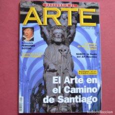Coleccionismo de Revistas y Periódicos: DESCUBRIR EL ARTE - Nº 5 - EL ARTE EN EL CAMINO DE SANTIAGO - BOTERO. Lote 211527205