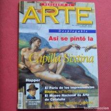 Coleccionismo de Revistas y Periódicos: DESCUBRIR EL ARTE - Nº 2 - CAPILLA SIXTINA - HOPPER. Lote 211527406