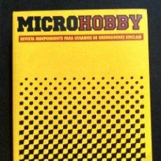 Coleccionismo de Revistas y Periódicos: REVISTAS MICROHOBBY DEL 1 AL 20 CON CASETTES Y ARCHIVADOR. Lote 211624710