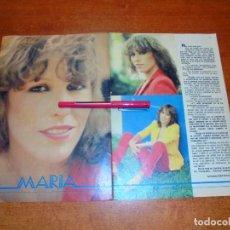 Coleccionismo de Revistas y Periódicos: CLIPPING DE 1979: CANTANTE MARÍA, ENTREVISTA - ENRIQUE Y ANA PRIMER DISCO DE PLATINO. Lote 211627517
