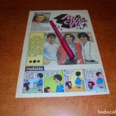Coleccionismo de Revistas y Periódicos: CLIPPING DE 1980: GRUPO GOMA DE MASCAR. COMPONENTES MASCULINOS.. Lote 211627690