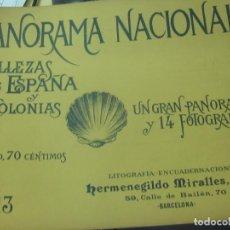 Coleccionismo de Revistas y Periódicos: PANORAMA NACIONAL BELLEZAS DE ESPAÑA Y SUS COLONIAS N° 13. Lote 211684174